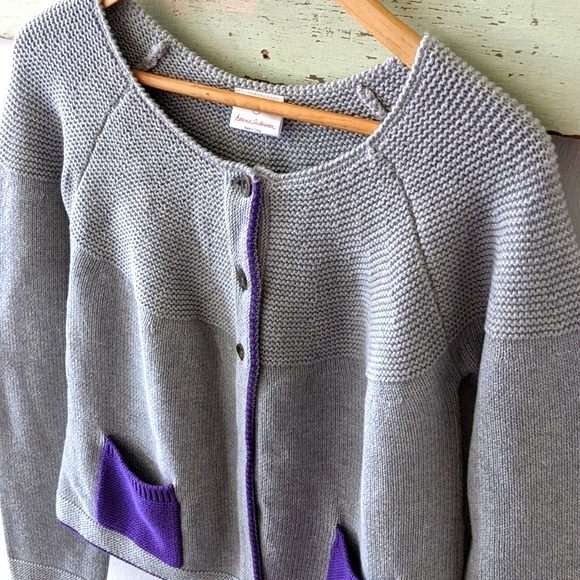 NWT Hanna Andersson I Two Pocket Cardigan, 160/14